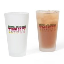 Rainbow TROUT Pint Glass