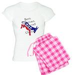Born American. Democrat by Ch Women's Light Pajama