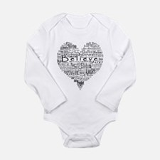 Cute Almighty Long Sleeve Infant Bodysuit