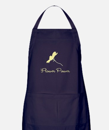 Flower Power Apron (dark)