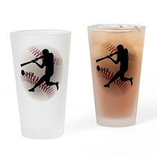 Baseball iHit Drinking Glass