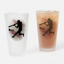 Baseball iHit Drinking Glass