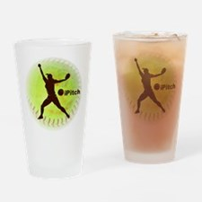 iPitch Fastpitch Softball Pint Glass