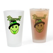Blarney Smiley Face Drinking Glass