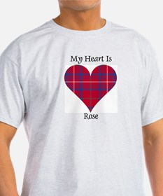 Heart - Rose T-Shirt