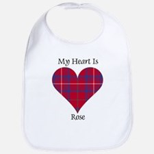 Heart - Rose Bib