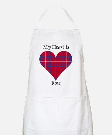Heart - Rose Apron