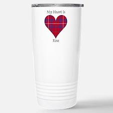 Heart - Rose Travel Mug