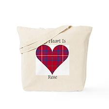 Heart - Rose Tote Bag