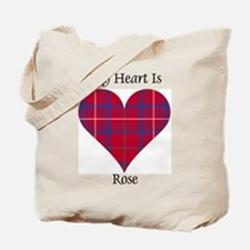 Heart - Rose Tote Bag
