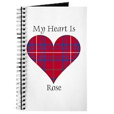 Heart - Rose Journal