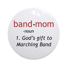 Definition of a Band Mom Ornament (Round)