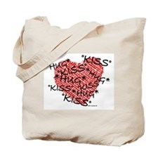 Hug & Kiss Tote Bag