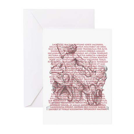 Laocoon Full Text Greeting Cards (Pk of 20)
