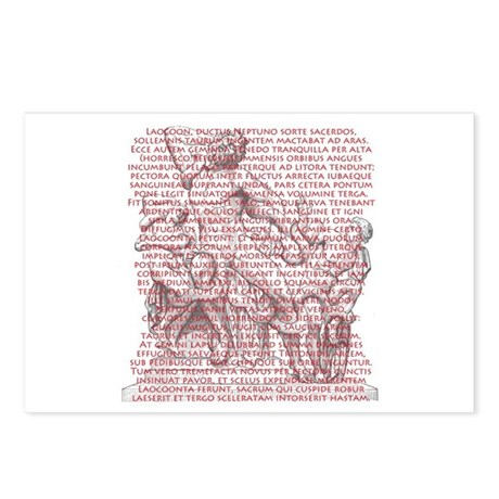 Laocoon Full Text Postcards (Package of 8)