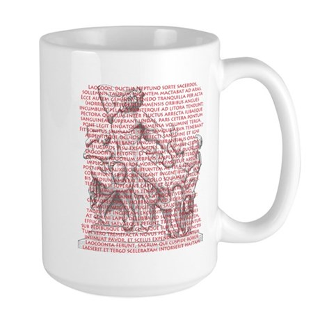 Laocoon Full Text Large Mug