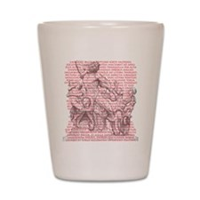 Laocoon Full Text Shot Glass