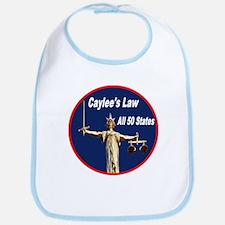 Caylee's Law All 50 States Bib