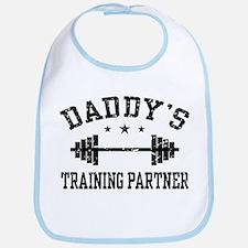 Daddy's Training Partner Bib
