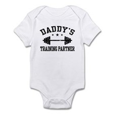 Daddy's Training Partner Infant Bodysuit