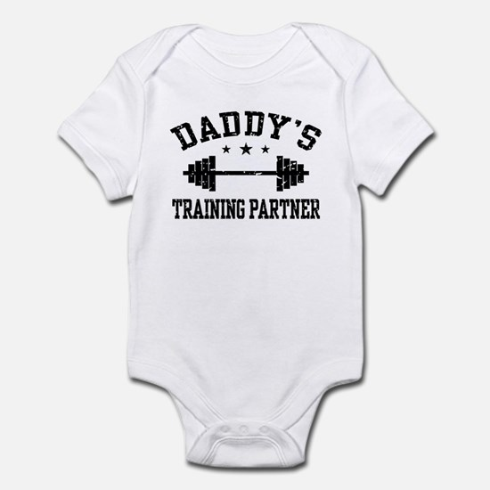 Daddy's Training Partner Infant Bodysuit