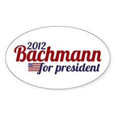 Bachmann for President 2012 Decal