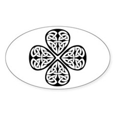 Knotwork Clover Decal