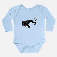 Panther Long Sleeve Infant Bodysuit
