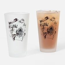 Smokin' Royal Flush Pint Glass