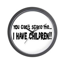 I Have Children Wall Clock