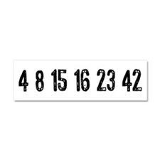 Lost Numbers Car Magnet 10 x 3