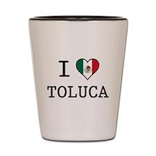 I Love Toluca T-Shirts Shot Glass