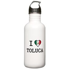 I Love Toluca T-Shirts Water Bottle