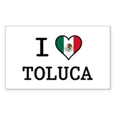 I Love Toluca T-Shirts Decal
