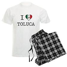 I Love Toluca T-Shirts pajamas