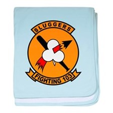 VF-103 Sluggers baby blanket