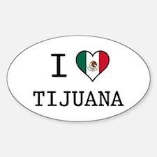 I Love Tijuana Decal