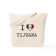 I Love Tijuana Tote Bag