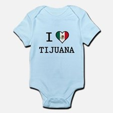 I Love Tijuana Infant Bodysuit
