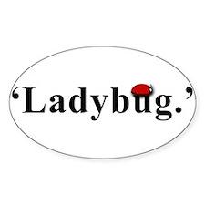 Ladybug. Decal