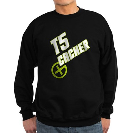 Geocaching T5 Cacher green Sweatshirt (dark)