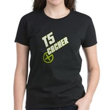 Geocaching T5 Cacher green Tee