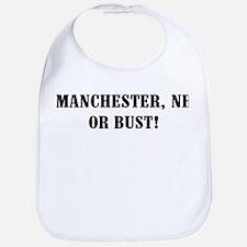 Manchester or Bust! Bib
