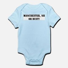 Manchester or Bust! Infant Creeper