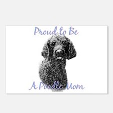 Poodle 1 Postcards (Package of 8)