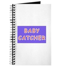 Baby catcher midwife gift Journal