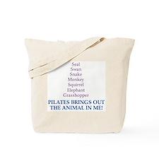 Pilates Animal Tote Bag