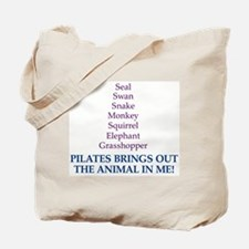 Pilates Animal Tote Bag