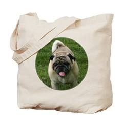 Fawn Pug Tote Bag