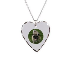 Fawn Pug Necklace